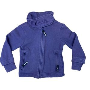 Bench muted purple funnel neck sweater
